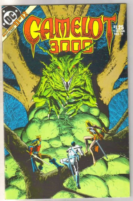 Camelot 3000 #11 comic book mint 9.8