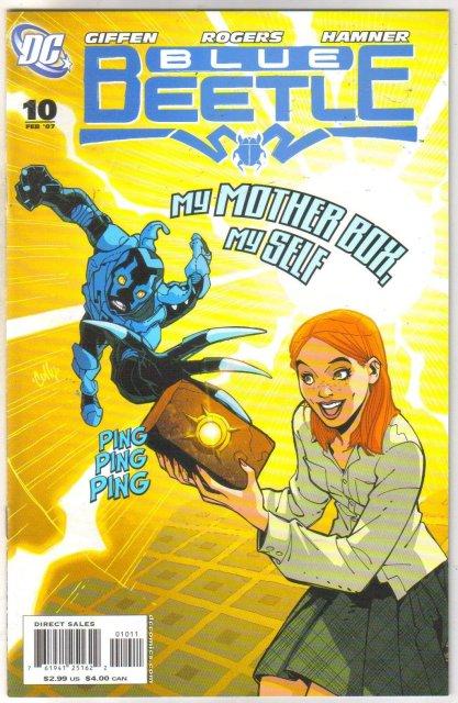 The Blue Beetle #10 comic book mint 9.8