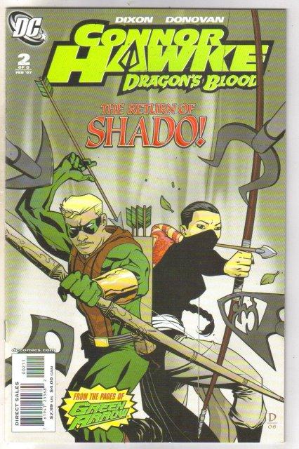 Connor Hawke #2 comic book mint 9.8