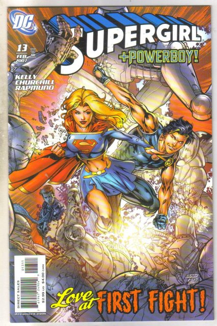 Supergirl #13 comic book mint 9.8