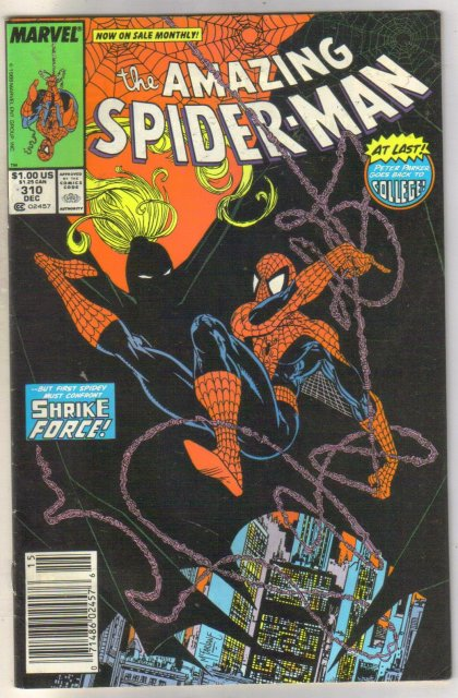 Amazing Spider-man #310 comic book very fine 8.0