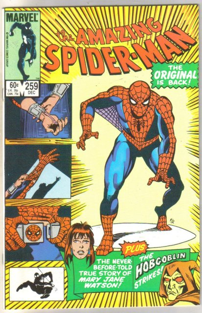 Amazing Spider-man #259 comic book mint 9.8