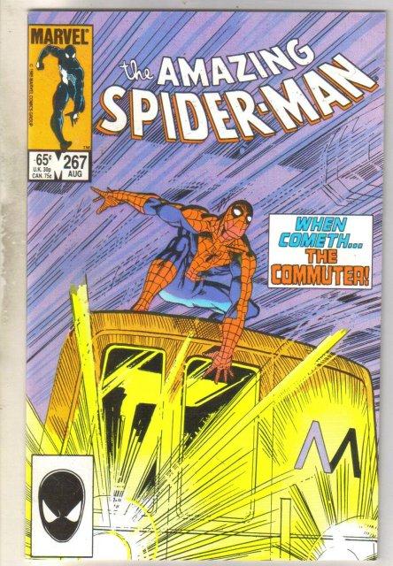 Amazing Spider-man #267 comic book near mint/mint 9.8
