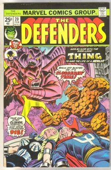 Defenders #20 comic book near mint 9.4
