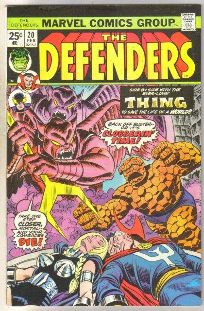 Defenders #20 comic book near mint 9.4