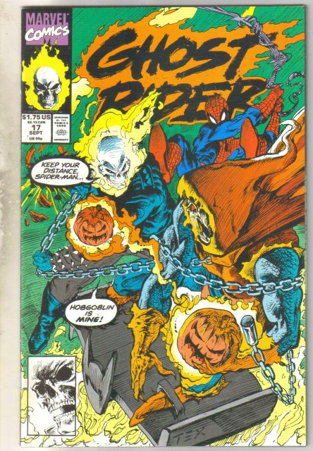 Ghost Rider vol 2 #17 comic book mint 9.8