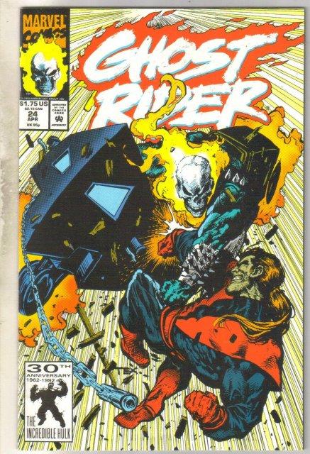 Ghost Rider vol 2 #24 comic book mint 9.8