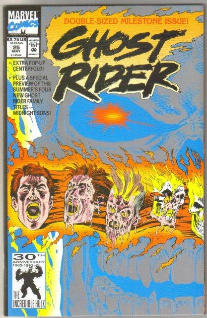 Ghost Rider vol 2 #25 comic book mint 9.8