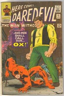 Daredevil #15 comic book very good 4.0