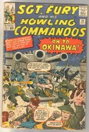 Sgt. Fury and His Howling Commandos #10 fair (coupon clipped)