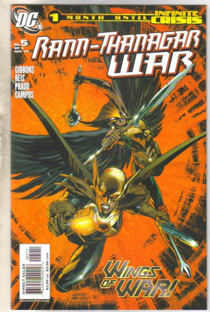 Rann-Thanagar War #5 comic book mint 9.8