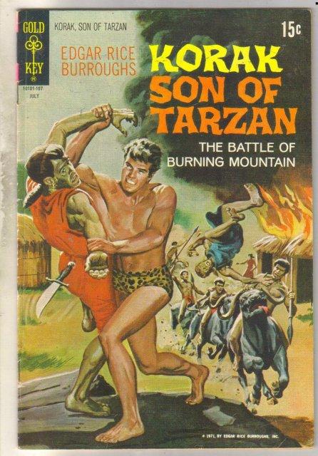 Korak Son of Tarzan #42 comic book fine 6.0