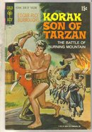Korak Son of Tarzan #42 comic book fine 6.0