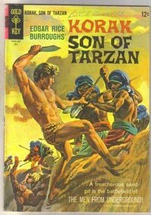 Korak Son of Tarzan #9 comic book very good 4.0