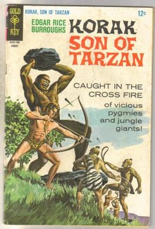 Korak Son of Tarzan #17 comic book very good 4.0