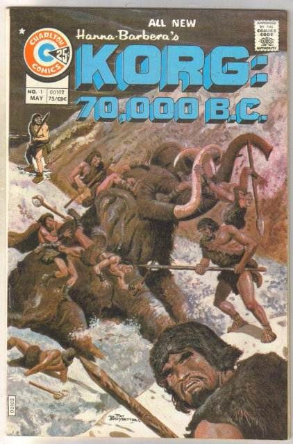 Korg: 70,000 b.c. comic book near mint 9.4