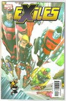 The Exiles #64 comic book near mint 9.4