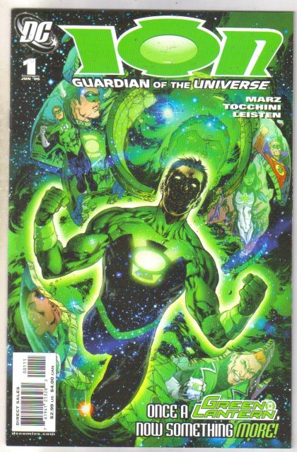 Ion #1 comic book near mint 9.4