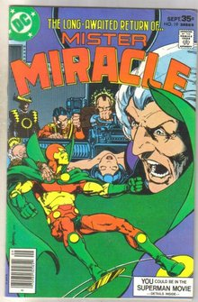 Mister Miracle #19  comic book fine 6.0