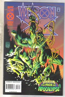 WeaponX #3 comic book near mint 9.4