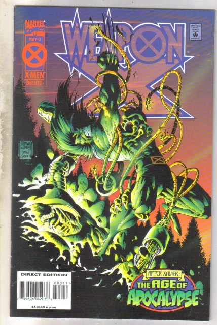 WeaponX #3 comic book near mint 9.4