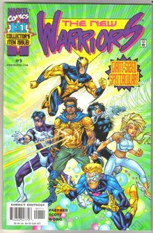 New Warriors #1 comic book mint 9.8