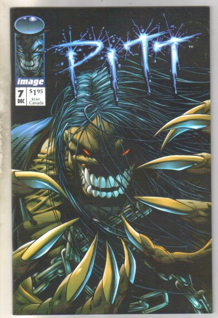 Pitt #7 comic book near mint 9.4