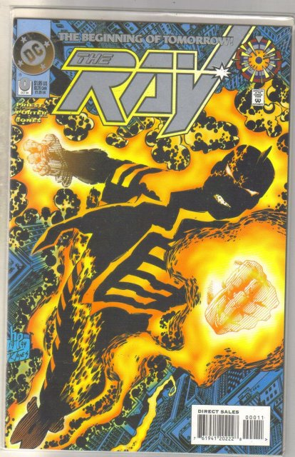 The Ray #0 comic book near mint 9.4