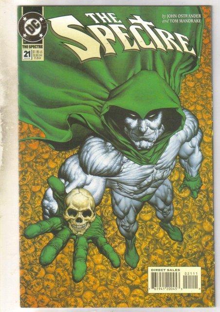 Spectre #21 comic book mint 9.8
