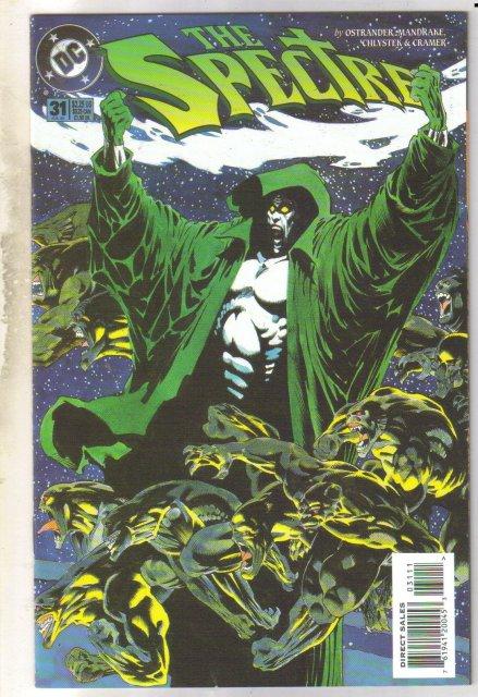 Spectre #31 comic book mint 9.8