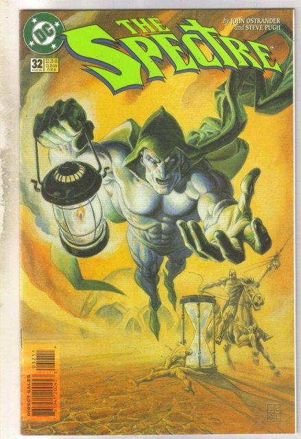 Spectre #32 comic book mint 9.8