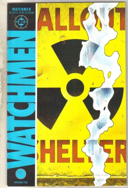 Watchmen #3 comic book fine/very fine 7.0