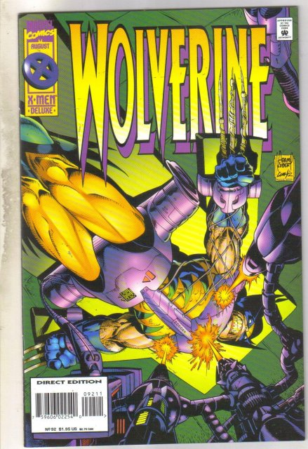 Wolverine #92 comic book mint 9.8