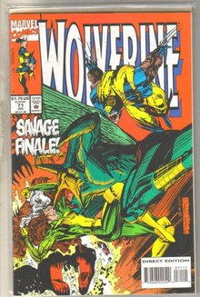Wolverine #71 comic book mint 9.8