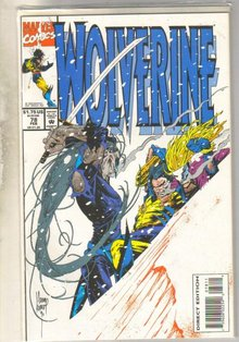 Wolverine #78 comic book mint 9.8