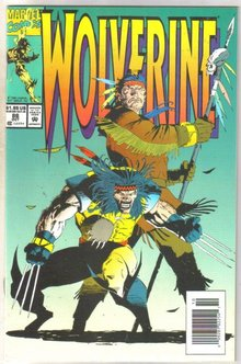 Wolverine #86 comic book near mint 9.4