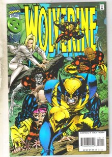 Wolverine #94 comic book near mint 9.4