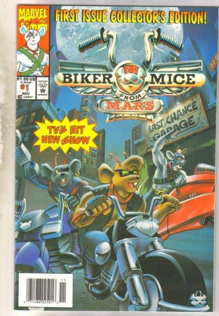 Biker Mice From Mars #1 comic book very fine 8.0