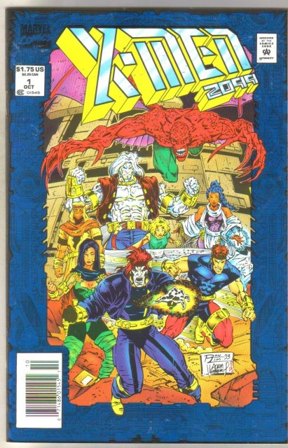 X-men 2099 #1 comic book mint 9.8