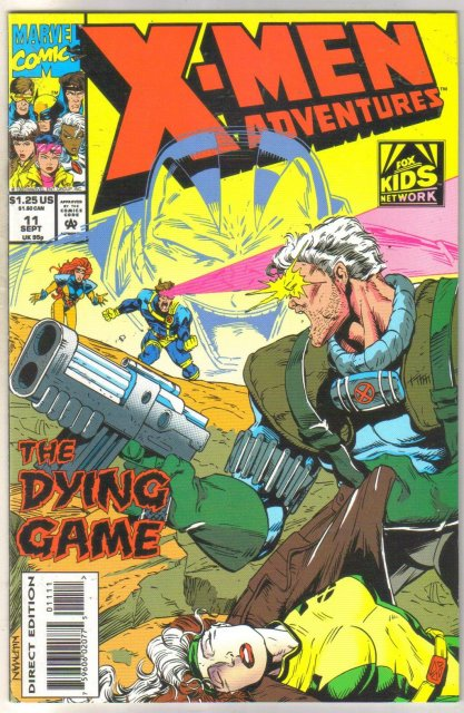 X-men Adventures #11 comic book mint 9.8