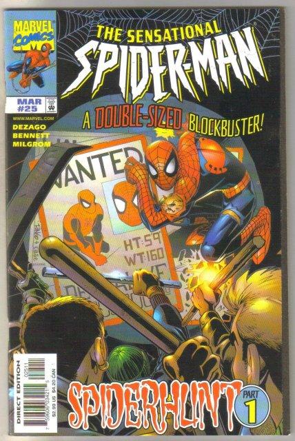 Sensational Spider-man #25 comic book mint 9.8