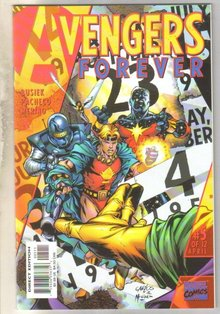 Avengers Forever #5 comic book mint 9.8