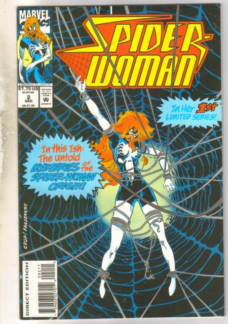 Spider-woman #2 comic book mint 9.8