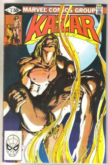 Kazar The Savage #5 comic book mint 9.8