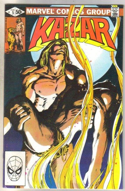 Kazar The Savage #5 comic book mint 9.8