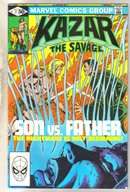 Kazar The Savage #7 comic book near mint 9.4