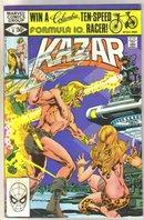 Kazar The Savage #8 comic book near mint 9.4