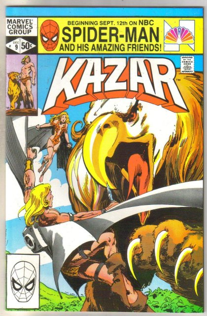 Kazar The Savage #9 comic book mint 9.8