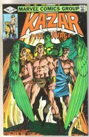 Kazar The Savage #10 comic book near mint 9.4
