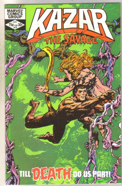 Kazar The Savage #13 comic book mint 9.8